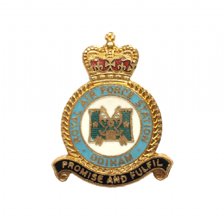 Royal Air Force RAF Odiham Lapel Badge